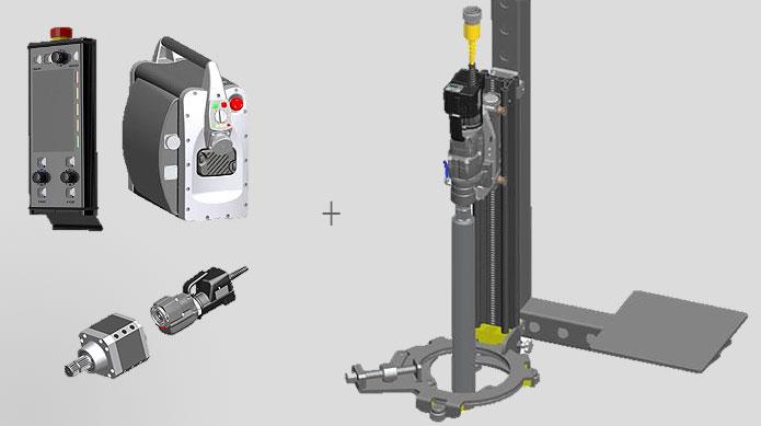 Basisausrüstung zzgl. Baumaschinenlafette Vorbohr- und Betonbohrtechnik Bohrkronen je nach Bedarf und Umfang