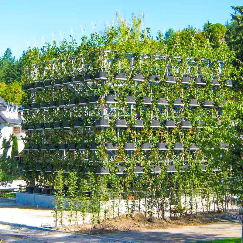 Garten- und Landschaftsbau mit dem Schraubfundament der Deutschen Fundamentbau Gesellschaft